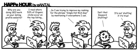 HAPPe HOUR Digital Marketing Comic Strip October 11, 2012