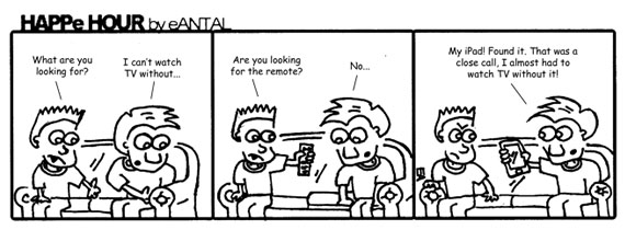 HAPPe HOUR Digital Marketing Comic Strip November 8, 2012