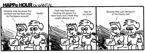 HAPPe HOUR Digital Marketing Comic Strip for February 8, 2013