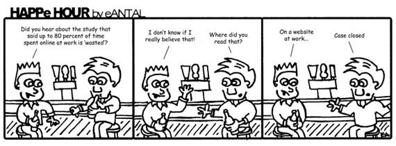 HAPPe HOUR Digital Marketing Comic Strip for February 14, 2013