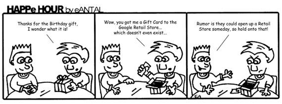 HAPPe HOUR Digital Marketing Comic Strip for February 21, 2013