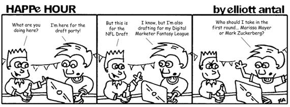 HAPPe HOUR Digital Marketing Comic Strip for April 26, 2013
