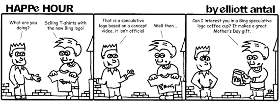 HAPPe HOUR Digital Marketing Comic Strip for May 3, 2013