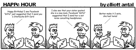 HAPPe HOUR Digital Marketing Comic Strip for May 10, 2013