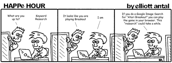 HAPPe HOUR Digital Marketing Comic Strip for May 17, 2013