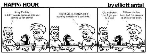 HAPPe HOUR Digital Marketing Comic Strip for May 31, 2013