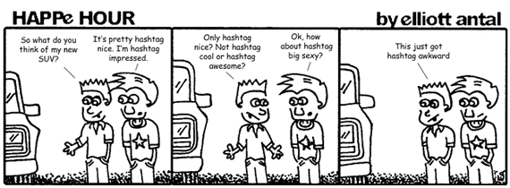 HAPPe HOUR Digital Marketing Comic Strip for June 14, 2013