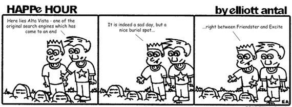 HAPPe HOUR Digital Marketing Comic Strip for July 5, 2013