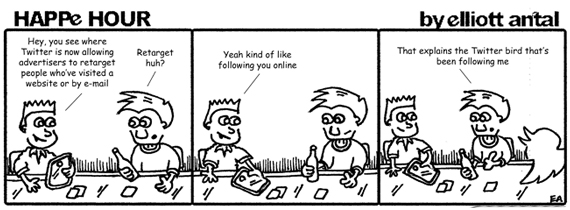 HAPPe HOUR Digital Marketing Comic Strip for July 12, 2013