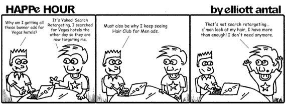 HAPPe HOUR Digital Marketing Comic Strip for August 16, 2013