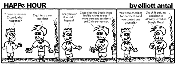 HAPPe HOUR Digital Marketing Comic Strip for August 23, 2013