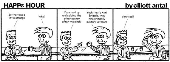 HAPPe HOUR Digital Marketing Comic Strip for September 13, 2013