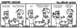 HAPPe HOUR Digital Marketing Comic Strip September 26, 2014