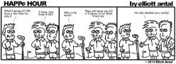 HAPPe HOUR Digital Marketing Comic Strip February 20, 2015